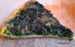 frittata verde, cena medievale