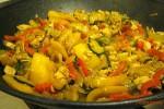 wok verdure pollo