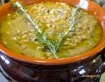 zuppa di fagioli all'occhietto, cena medievale